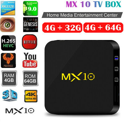 2019 T95Q 4K Smart TV Box 4+32G Android 8 1 Quad Core Dual WIFI With