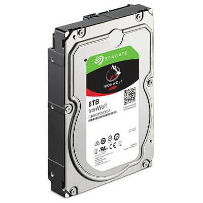 """HDD Disco Duro Interno NAS SEAGATE IronWolf 3.5"""" 6TB 7200RPM 256MB ST6000VN0033"""