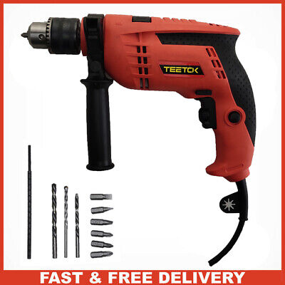 220-240V Corded Screwdriver Electric Impact Drill Power DIY Tool 650W Assemble