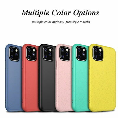 Eco-friendly Silicone Case For iPhone 11 Pro Max XS XR 8 7 Shockproof Skin Cover
