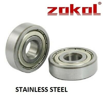 MR137-ZZ TOP QUALITY STAINLESS STEEL BEARING 7mm x 13mm x 4mm FREE P/P SAME DAY