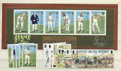 1997 MNH Alderney year collection, postfris