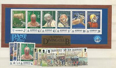 1998 MNH Alderney year collection, postfris