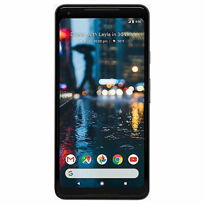 Google Pixel 2 XL Android Smartphone ohne Simlock 6 Zoll Display Burn-In 64GB