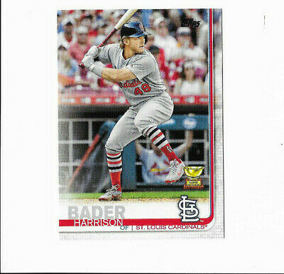 Harrison Bader -2019 Topps Series-1 -All-Star Rookie -#97 -Cardinals -Free S&H