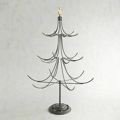 Pier 1 Christmas Ornaments.Pier 1 One 25 Iron Christmas Ornament Tree Stand New With Tag Sold Out