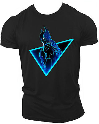 Batman The Dark Knight Rises T-Shirt, Dc Comics Superheroes Joker Unisex Neon01