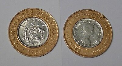 1934 and 1959. Unique 7d coin, great for your collection, or gift!