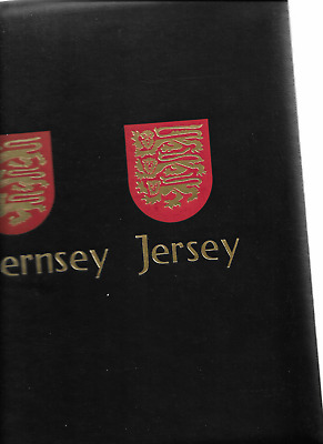 1970-2000 MNH Jersey collection in DAVO luxury album (5 scans)