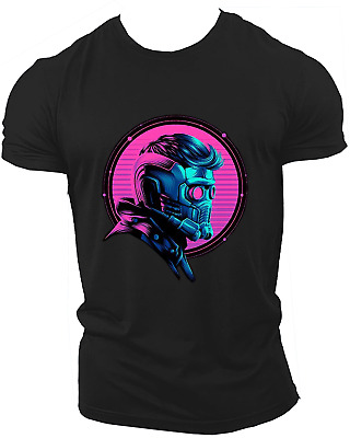 Star Lord Avengers Infinity War End Game Marvel Endgame Unisex T-Shirt Neon12