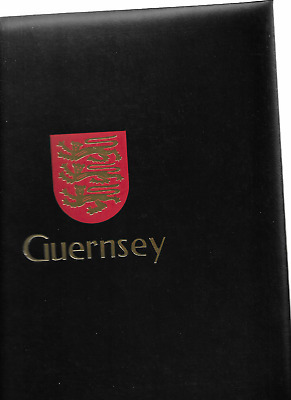 1970-2000 MNH Guernsey collection in DAVO luxury album (6 scans)
