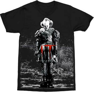 IT Pennywise Standing Chapter Two Clown Stephen King Horror Movie T Shirt 12-67