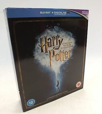 HARRY POTTER COMPLETE 8 FILM COLLECTION Blu-Ray Age Rated 12  - H30