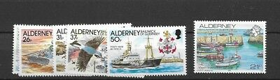 1991 MNH Alderney year collection, postfris