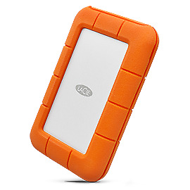 "Lacie Demo Lacie Rugged 2.5"" 4Ft Drop Resistant 2Tb Thunderbolt, Usb3.0, 3Yr"