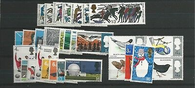1966 MNH Great Britain, commemorative year collection