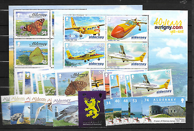 2008 MNH Alderney year collection, postfris