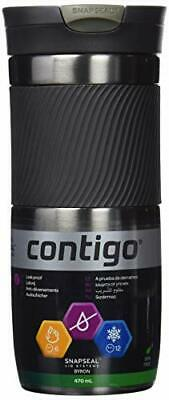 Contigo Byron 24 - Termo antigoteo, Color Gris, 720 ml
