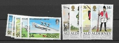 1985 MNH Alderney year collection, postfris