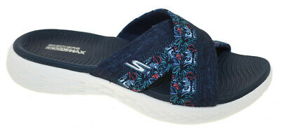feab4740a9b72 SKECHERS SANDALS PERFORMANCE Women's On The GO 600 Luxe-Luvly Slide ...
