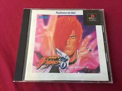 PS1 The KING OF FIGHTERS 96 KOF SNK playstation V.S. FIGHTING game FREE POSTAGE