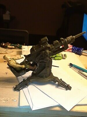 G.I. Joe FLAK Attack Cannon 1982 Loose but 100%  Complete FREE SHIPPING ARAH!