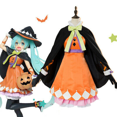 Hatsune Miku Christmas Outfit.Vocaloid Hatsune Miku Clown Dress Lolita Christmas Cosplay