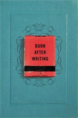 Burn After Writing (Paperback or Softback)