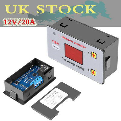 SP 12V Battery Low Voltage Cut off Switch On Protection Undervoltage Controller
