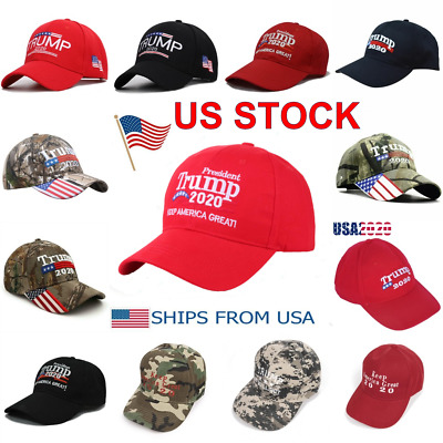 Donald Trump 2020 Cap Hat Embroidered Keep America Great ! MAGA USA President
