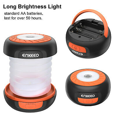30 LED Camping Laterne Faltbare Licht Outdoor Wandern Arbeit Tragbare Lampe KS
