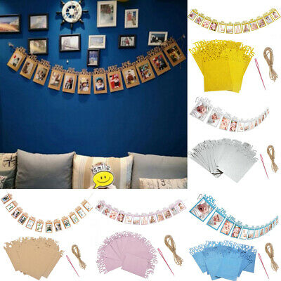 Bunting Banners Photo Props Baby 1st Birthday Recording 1-12 Month Decor Glitter