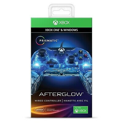Manette de Jeu Filaire Afterglow Prismatic Xbox One One S One X Windows PC Gamer