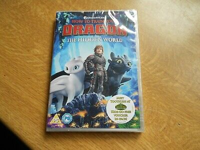 HOW TO TRAIN YOUR DRAGON..the hidden world.....DVD