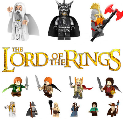 Lord of the Rings Movie Frodo BilboTolkien Building Blocks Mini Figure Toy DIY