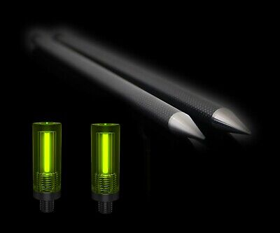 ICEATOPE DISTANCE STICKS Carbon Sticks With Screw Top Isotopes and 12ft ParaCord