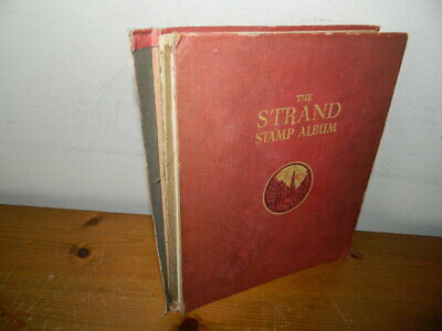 STRAND ALBUM WITH WORLD COLLECTION (Approx 1,500 stamps)