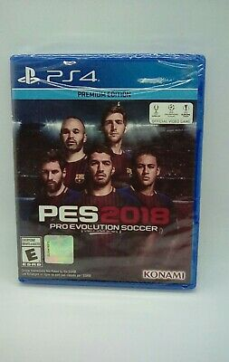 Pro Evolution Soccer PES 2018 Premium Edition PlayStation 4 PS4 New