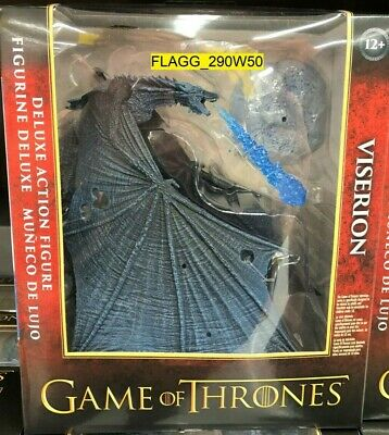 Game Of Thrones VISERION Deluxe Action Figure Ice Dragon HBO McFarlane 2019 GOT