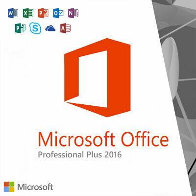 Microsoft Office 2016 Professional Plus Product 🔑 Instant 📩 (32/64) Bit 🔑