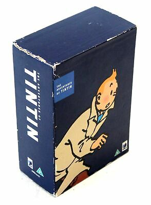 The Adventures Of TINTIN DVD Box Set Region 2 Rated U  - T07