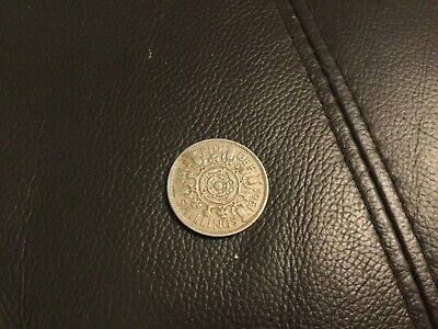 1961 Two shilling coin, good circulated condition
