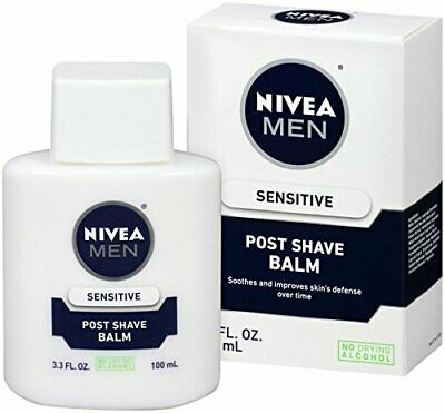 Nivea Men Sensitive After Shave Balm 100 ml (3.3 Ounce (Pack of 1))