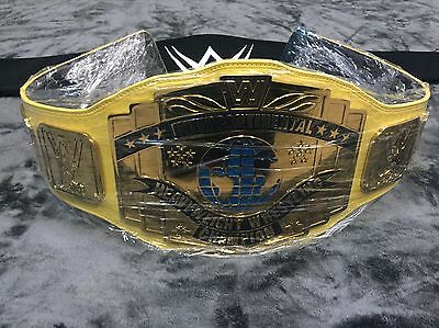 WWE Intercontinental Championship Belt Classic Wrestling Belt WWF TITLE WARRIOR