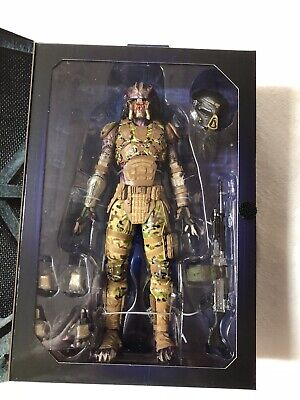 "Emissary Predator I Ultimate Action Figure 7"" Inch NECA Reel Toys Movie 2018"
