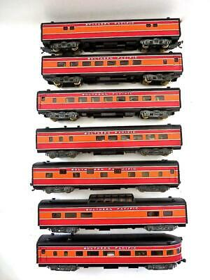 BRASS CAR SIDES 25 HO Great Northern Empire Builder 16-4