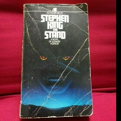 Stephen King ___THE STAND___ PB 1980 1st Signet Printing HORROR - MYSTERY VG+