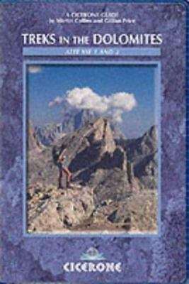 Treks in the Dolomites: Alta Vie 1 and 2 (Cicerone Mountain Walking) by Collins