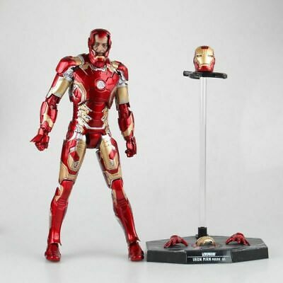 Anime HC Toys The Avengers Iron Man MK43 1/6th Scale Action PVC Figure No Box