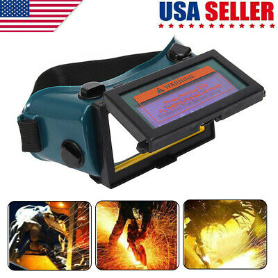 New Pro Solar Welding Mask Helmet Arc Auto Darkening Eyes Goggles Welder Glasses